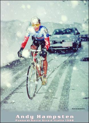 Hampsten on the Gavia in '88