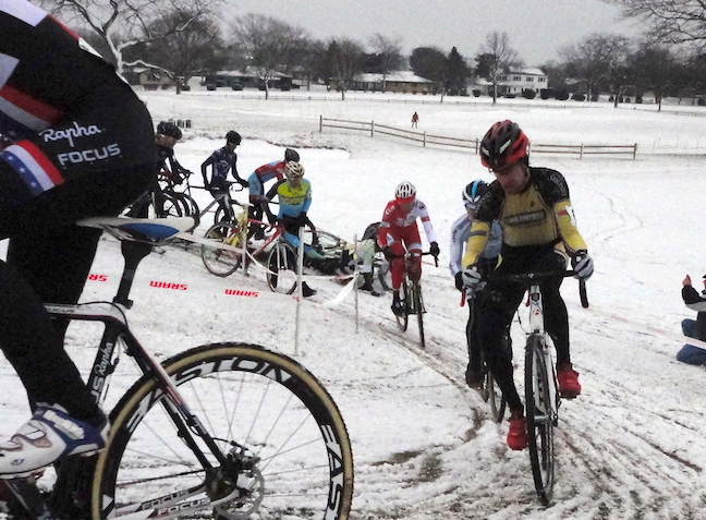 "in CX biking bad = good. they are hardly even riding and they're calling it ""good."" when they even make it around a corner they are happy! what a marketing win! xc skiing needs this kind of attitude!"
