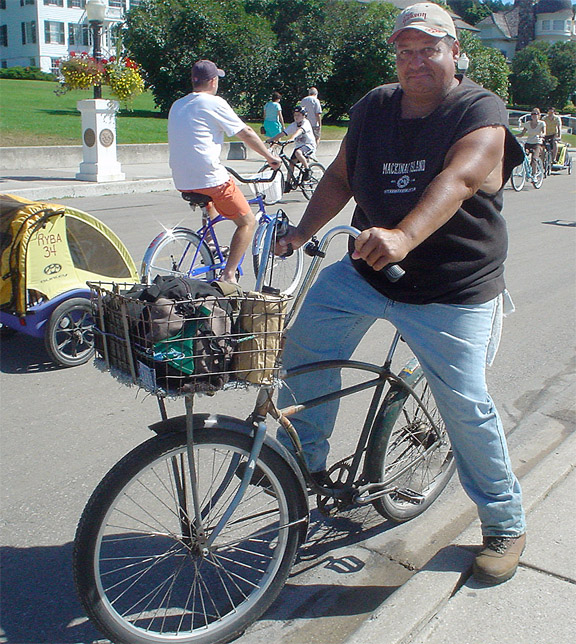 Bikes The Dock Porter Bikes Of Mackinac Island The First Ever